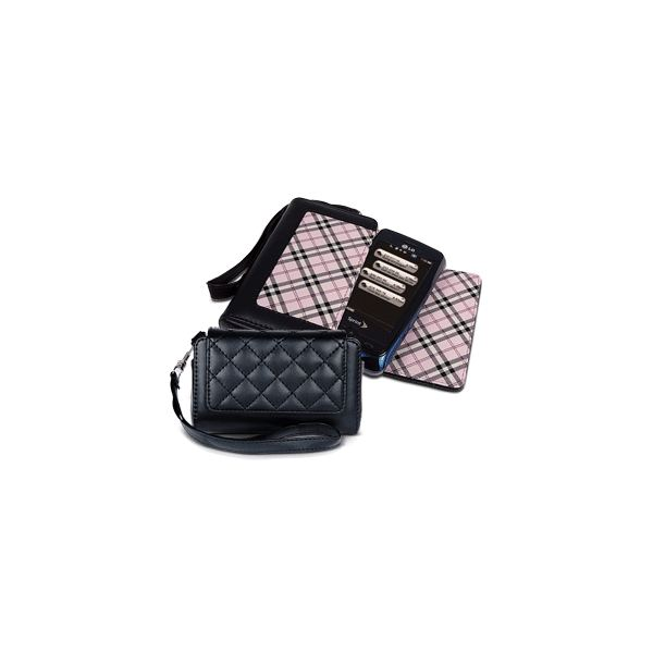 Quilted Plaid Pouch