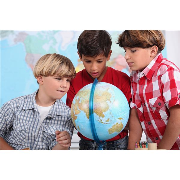 Continents Lesson Plan With Map and Globe Activities for Younger Students