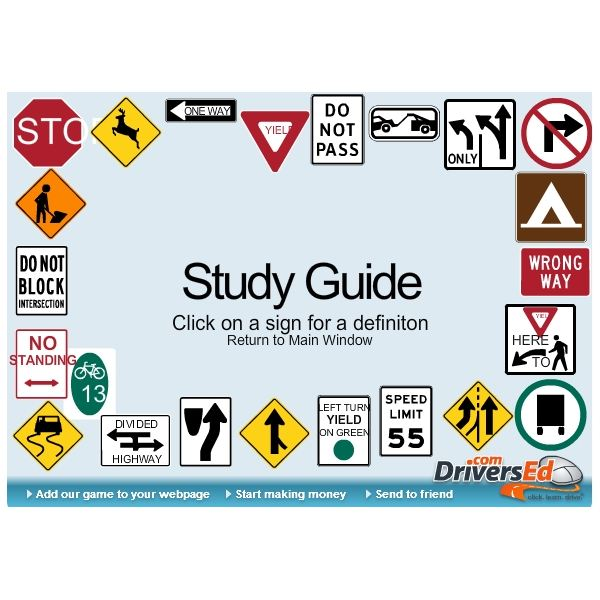 driving study guide - free driving lessons