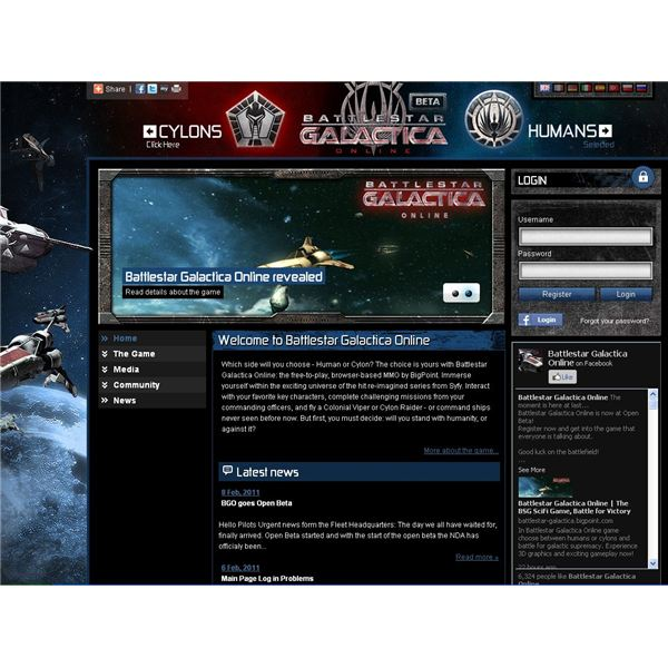 Battlestar Galactica Online - Play as the Cylons or Colonials