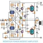 MOSFET Amplifier Circuit Diagram, Image