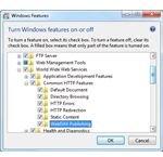 Turn Windows Fearures On Or Off