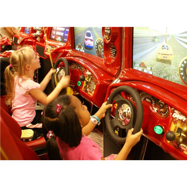 Kids Play Racing Games
