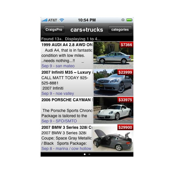 craigslist app for iphone best iphone apps for craigslist 13905