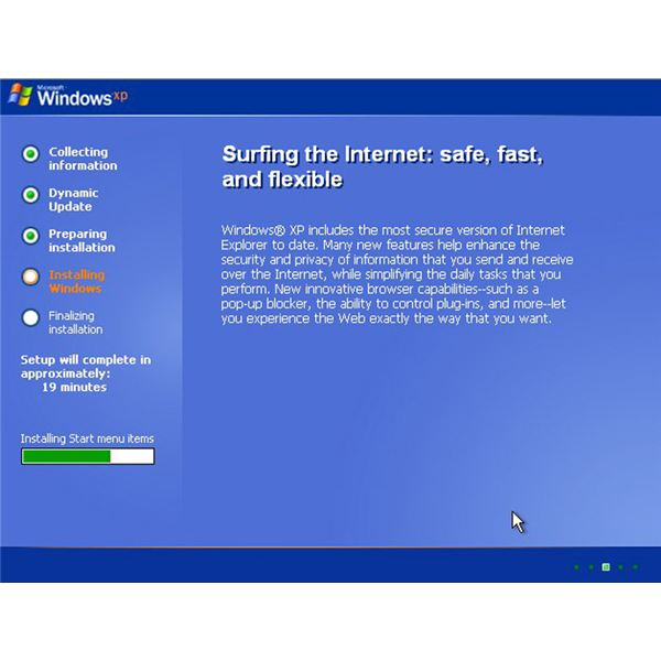 The repair install will overwrite damaged or corrupted Windows files.