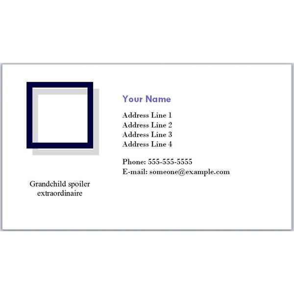 Learn why post retirement business cards are necessary download retiree business cards grandchild spoiler colourmoves