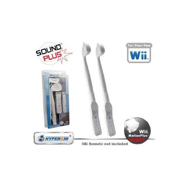 Reviewing the Nintendo Wii Golf Kit with Sound Plus and Nintendo Wii Baseball Kit with Sound Plus