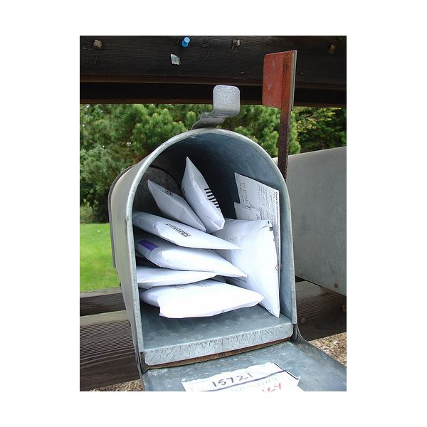Junk mail: not-so-eco-friendly