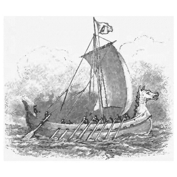 Appletons' Thorfinn ship