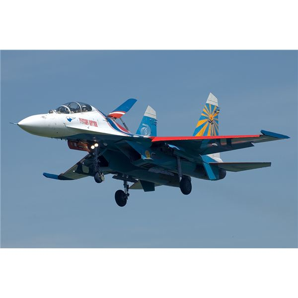 Su-27 of Russian Knights from Wikipedia