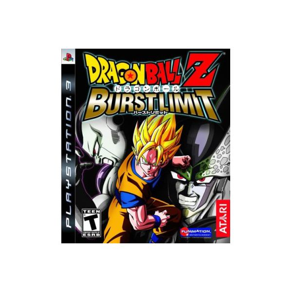 Dragon Ball Z Burst Limit PS3 Boxshot