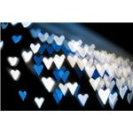 Jagged Blue Hearts, Creative Commons License by George