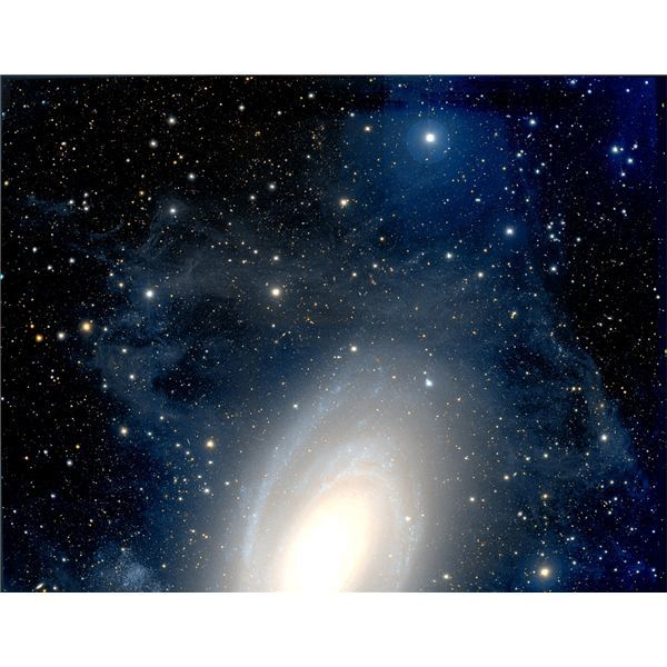 Visible Light Image of M81