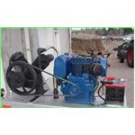 Diesel Engine, belt driven air compressor