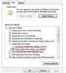 Show Hidden Windows Files