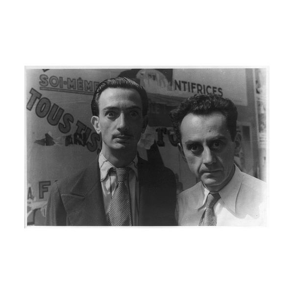 Man Ray & Salvador Dali, 1934