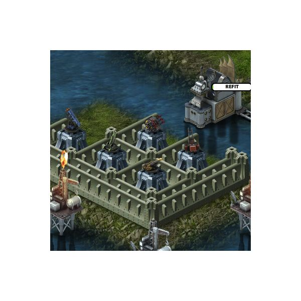 Five Kinds of Battle Pirates Turrets