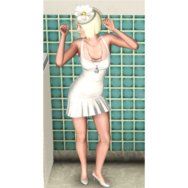 The Sims 3 Bachelorette outfit