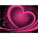 ai-vector-heart-graphics-pink-heart-with-vines