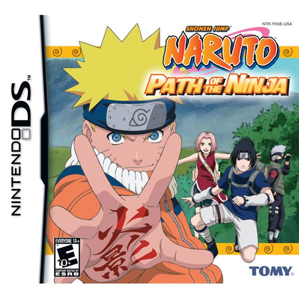 Naruto Path of the Ninja Boxshot
