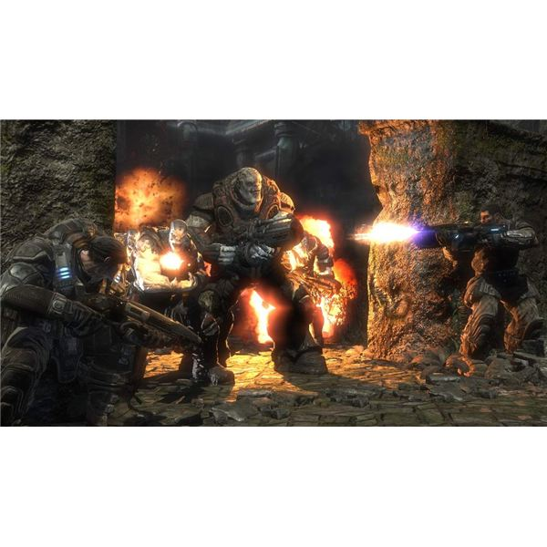 Gears of War 2 Enemies