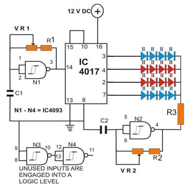 How to Build a Strobe Light, Circuit Diagram, Image