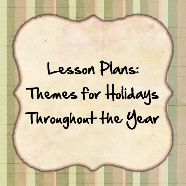 Students of all ages love holiday-themed lesson plans!