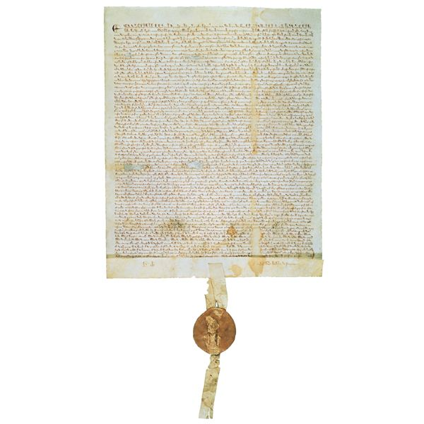 Magna Carta: Courtesy of the U.S. National Archives