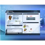 Player profiles are typically well presented and lacking in the depth of games such as Football Manager 2010