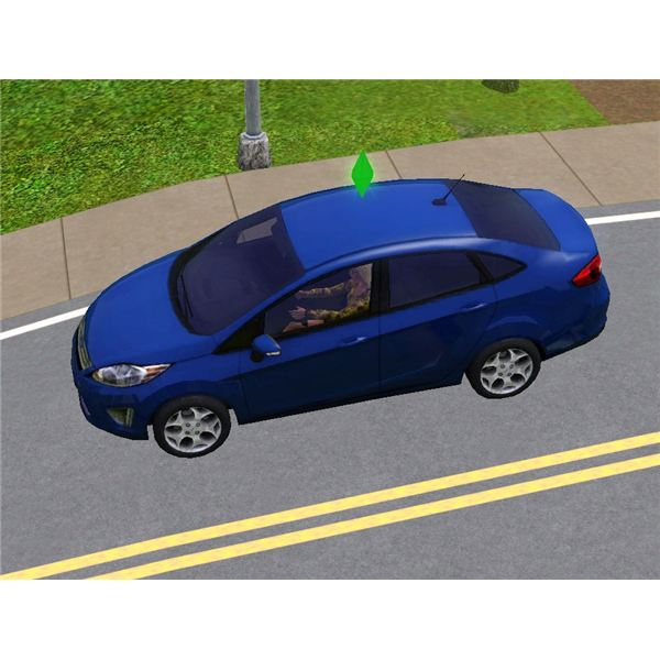 The Sims 3 Free Ford Fiesta Car