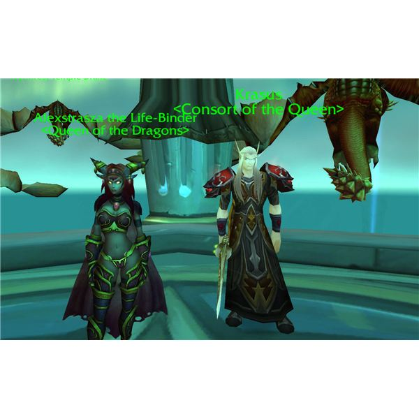 Wyrmrest Accord Queen and Consort