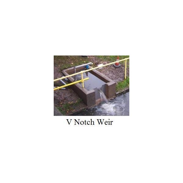 V Notch Weir Picture