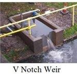 V Notch Weir Picture