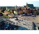 Zamkowy, Waszavia, The Castles Square, Warsaw, Poland