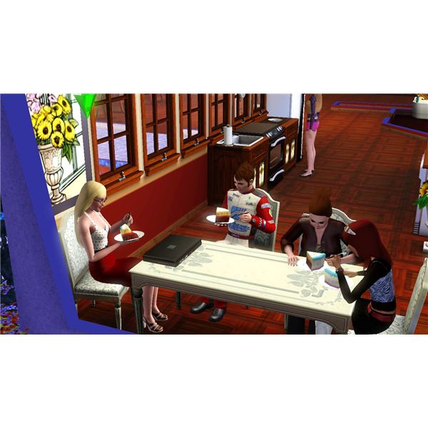 How Do You Get a Birthday Cake on Sims 3