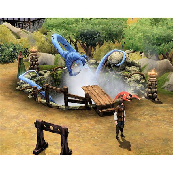 The Sims Medieval pit beast