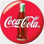 Coke bottle logo
