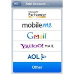 Add Mail Account on iPhone
