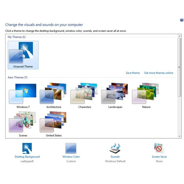 Windows 7 Aero Tweaks