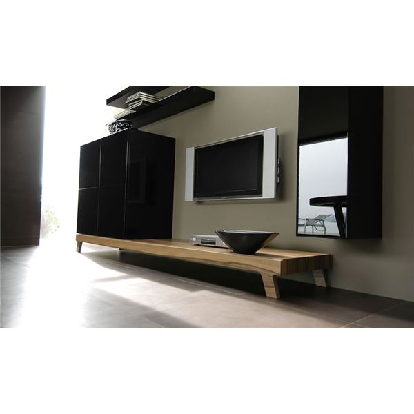 step by step guide on how to build home entertainment wall. Black Bedroom Furniture Sets. Home Design Ideas