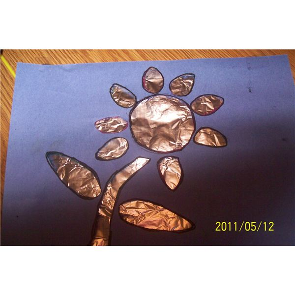 Stained Glass Spring Art Project For Preschool Cute Crafts For