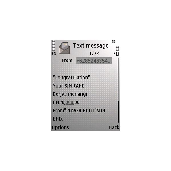 SMS Phishing Uses a Company Name to Get Victims