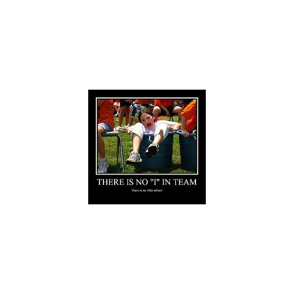 There is no I in Team by ARealPlumber