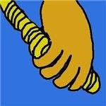 grab rope