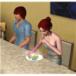 The Sims 3 Eating Ambrosia