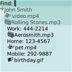 Photo Caller ID Deluxe BlackBerry App