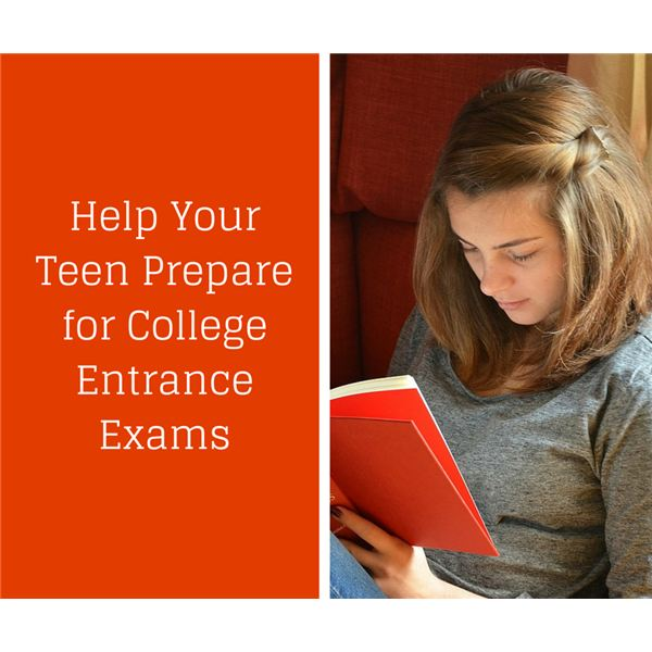 Prepare Teens for Entrance Exams