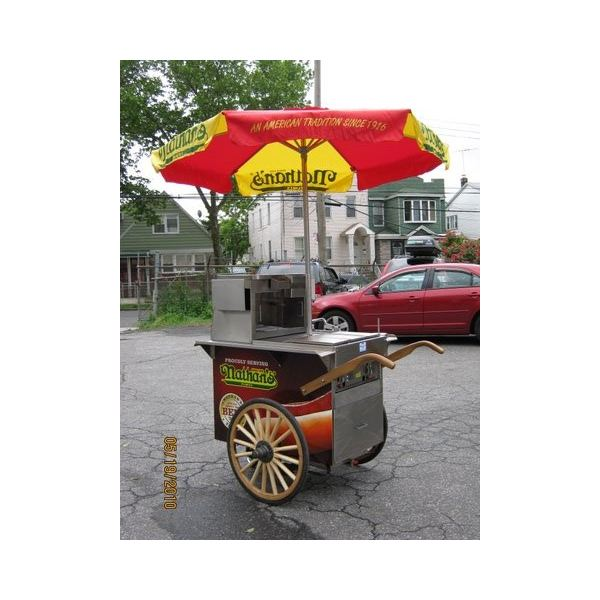We could all open hot dog stands