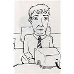 The Dull Office Worker by Dale Wylie