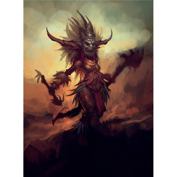 Blizzard Image Diablo III Witch Doctor2
